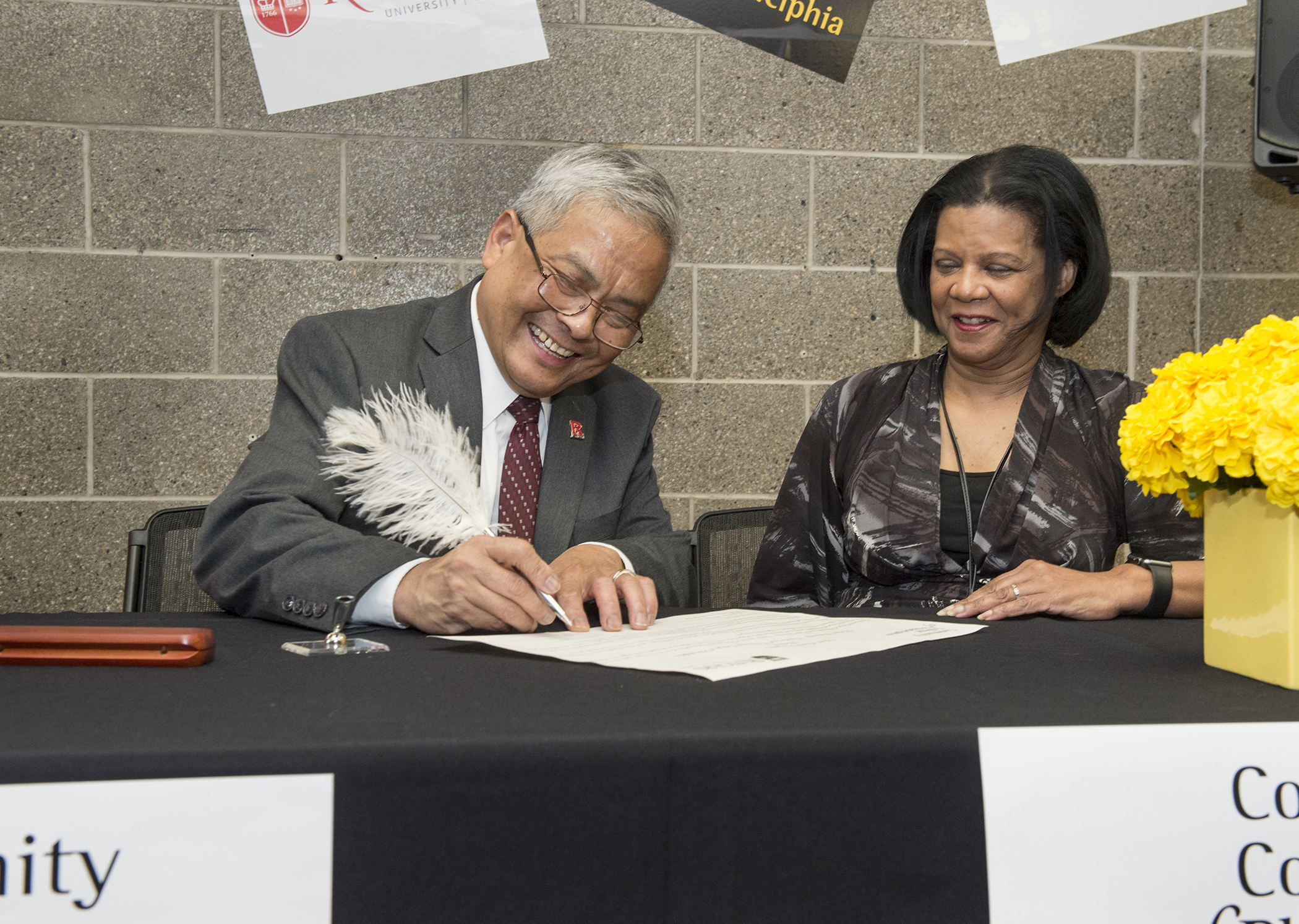 A Bridge To Opportunity A New Ccp And Rutgers Camden Agreement