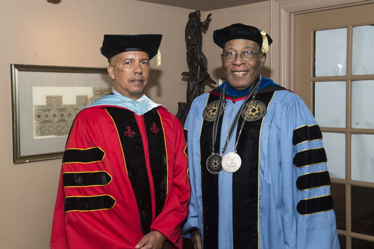 Dr. Donald Generals and Dr. Ronald J. Temple