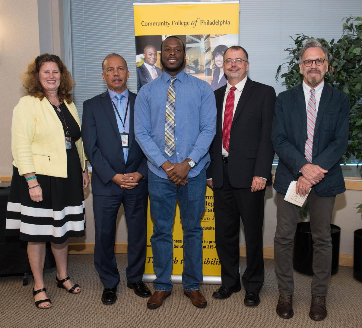 Community College of Philadelphia's Gas Distribution Pipeline Mechanic Program Graduation