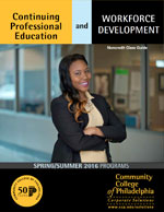 Download the Spring 2016 Professional Development Catalog