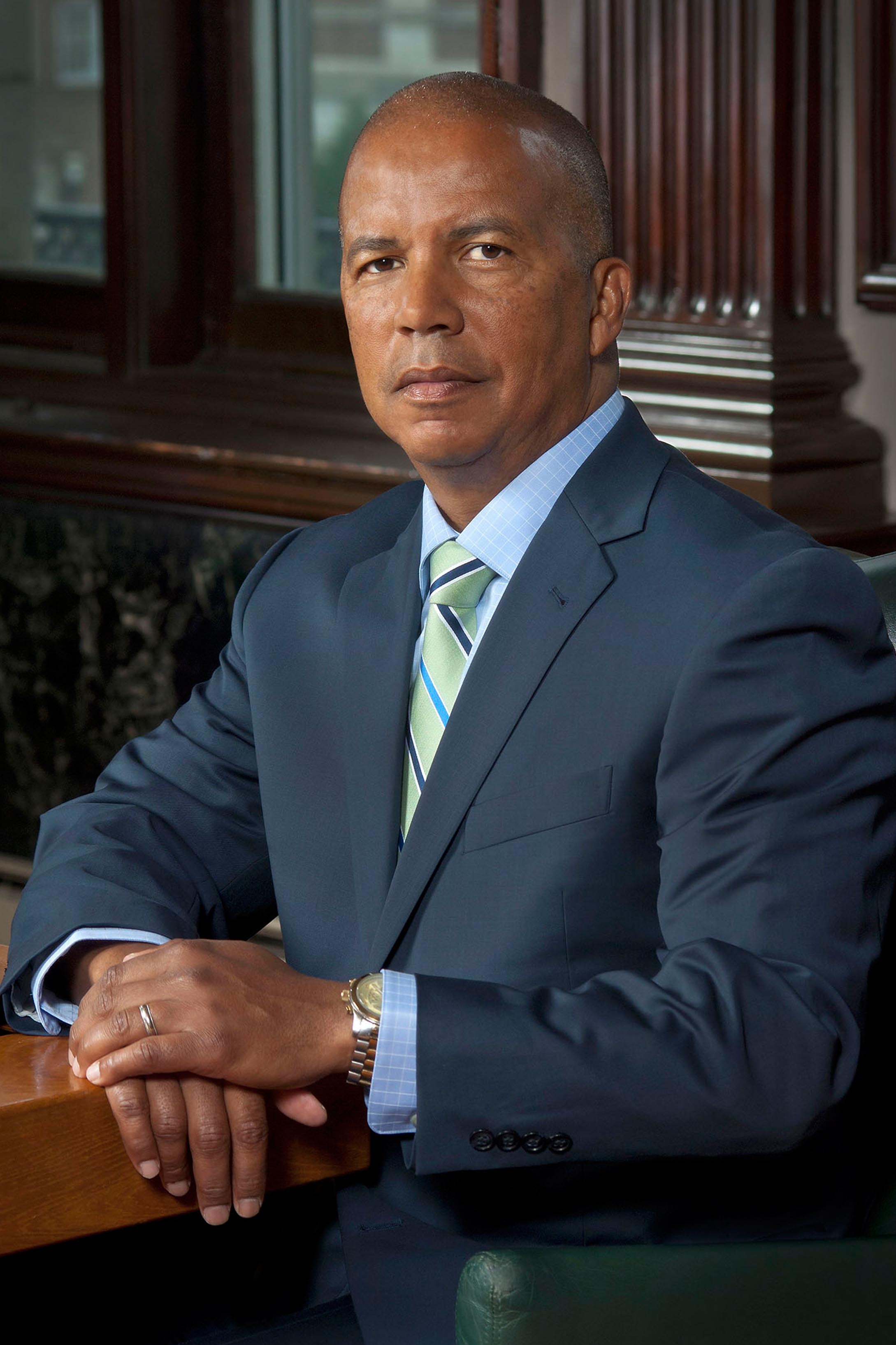 Dr. Donald Generals, the sixth president of Community College of Philadelphia