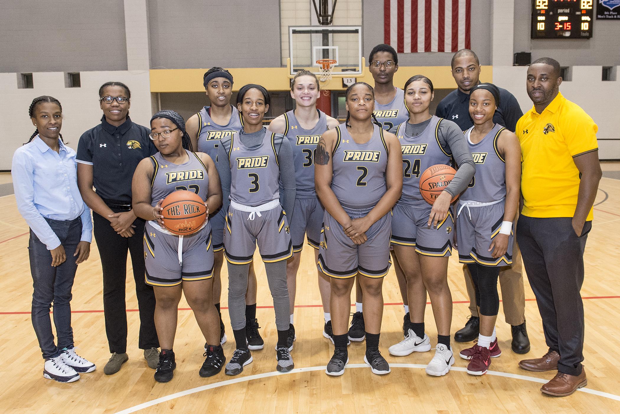 Community College of Philadelphia's women's basketball team