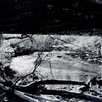 "Keith Weidenauer Creek, 2000 Photograph — 9""H x 12""W Student Work"