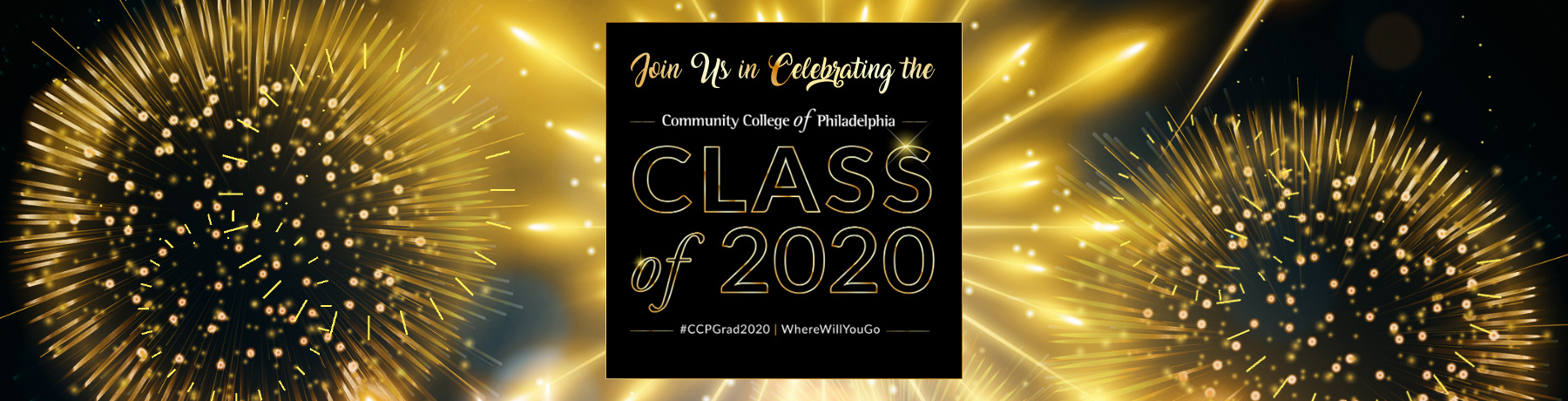 Join Us in Celebrating the Class of 2020