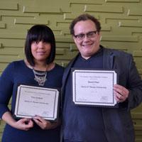 Tara Jenkins and Daniel Platt