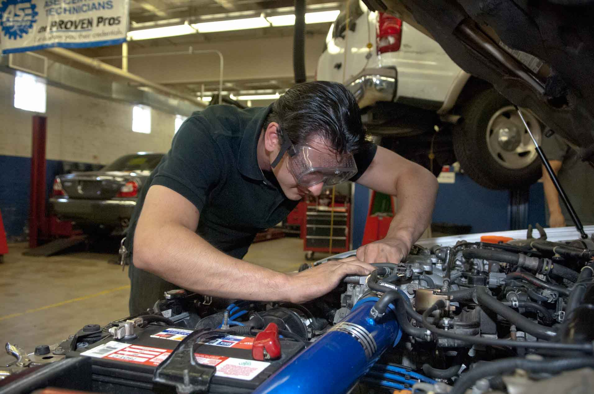 Automotive Service I Proficiency Certificate   Community ...
