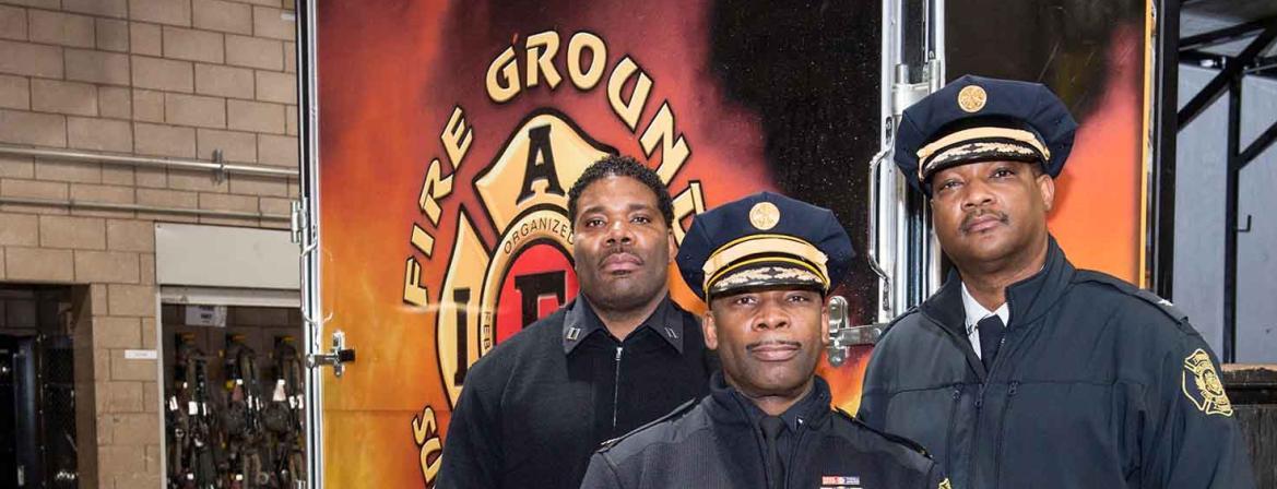 Fire Science program at Community College of Philadelphia.