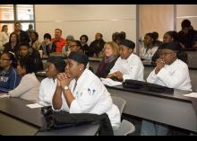 Students in the Culinary Arts program at CCP.