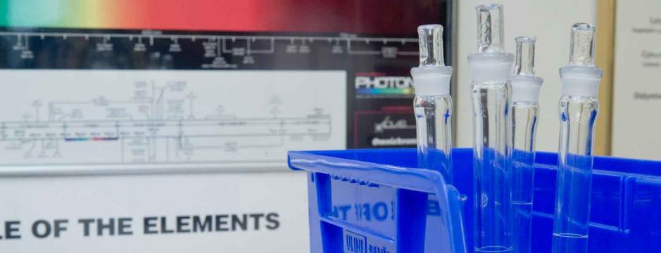 vials of fluid samples