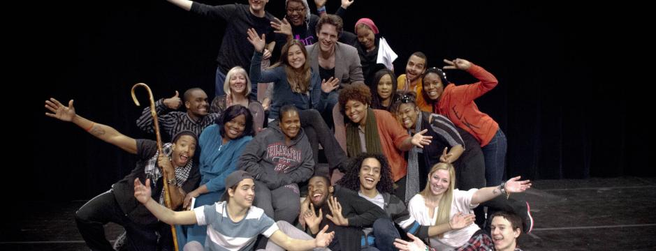 Theater Students