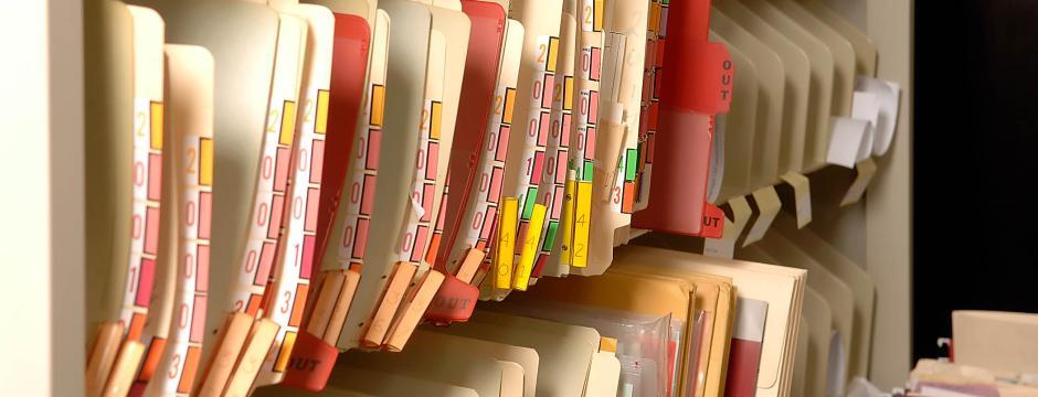 Paper Medical files